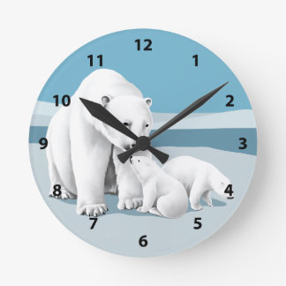 Polar Bear Clocks