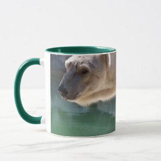 Polar Bear Close Up Portrait Mug