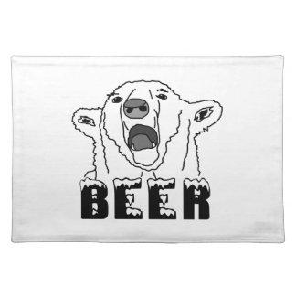 Polar Bear Cloth Placemat