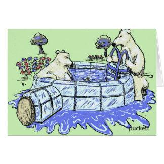 Polar Bear Club Card
