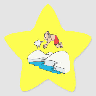 Polar Bear Club Star Sticker