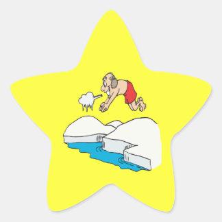 Polar Bear Club Star Sticker