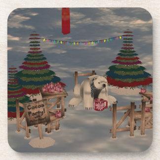 Polar Bear Coasters