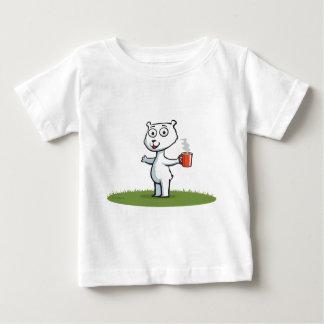 Polar Bear Coffee Baby T-Shirt