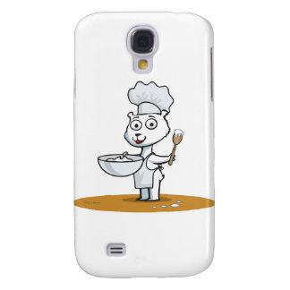 Polar Bear Cook Samsung Galaxy S4 Cover