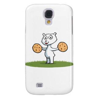 Polar Bear Cookies Galaxy S4 Case