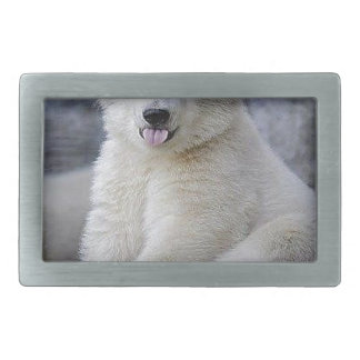 Polar Bear Cub Belt Buckles