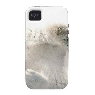 Polar Bear Cub Cute Animal Arctic Frozen Winter Vibe iPhone 4 Cases