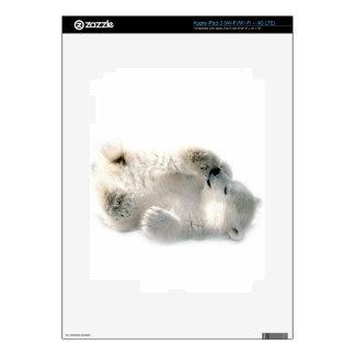 Polar Bear Cub Cute Animal Arctic Frozen Winter Skins For iPad 3