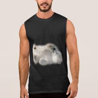 Polar Bear Cub Cute Animal Arctic Frozen Winter Sleeveless Shirt