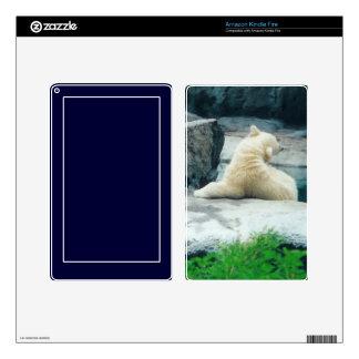 polar bear cub kindle fire skin