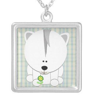 Polar Bear Cub Necklace