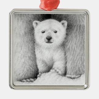Polar Bear Cub Ornament