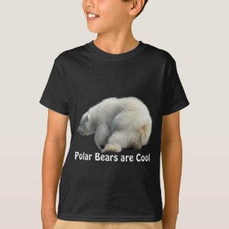 Polar Bear Cub Photo Art Apparel T-Shirt