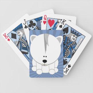 Polar Bear Cub Playing Cards