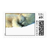 Polar Bear & Cub Postage