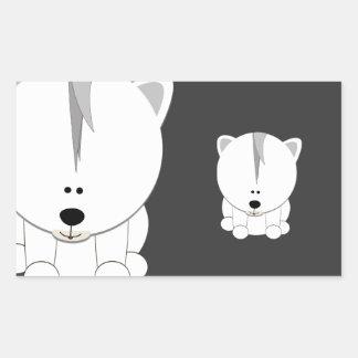 Polar Bear Cub Sticker