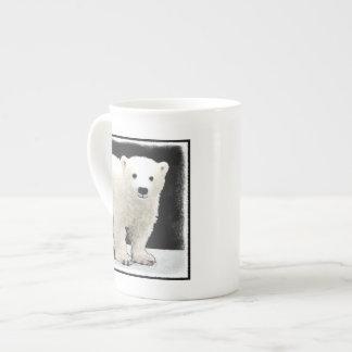 Polar Bear Cub Tea Cup