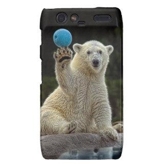 Polar Bear Cub with Toy Droid RAZR Covers