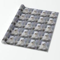Polar Bear Cub Wrapping Paper