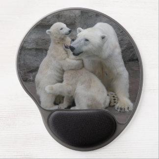 Polar Bear Cubs Gel Mouse Pad