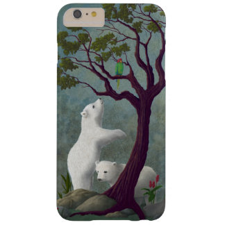 Polar Bear Cubs In Tropical Environment Barely There iPhone 6 Plus Case