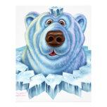 polar bear custom letterhead