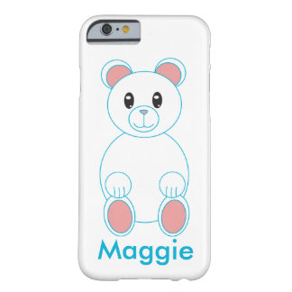 Polar Bear Customizable Barely There iPhone 6 Case