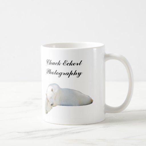 Polar Bear Cut-out, Polar Bear Surfacing, Chuck... Mug