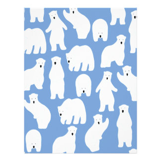 Polar Bear Day - Appreciation Day Letterhead