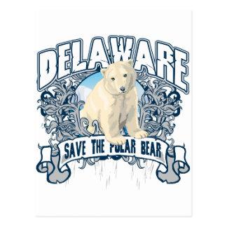 Polar Bear Delaware Postcard