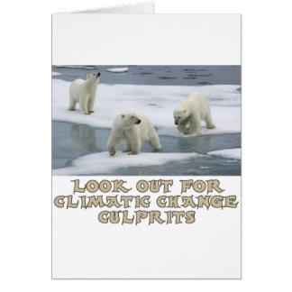 Polar bear designs card
