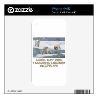 Polar bear designs decal for iPhone 4S
