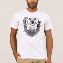 Polar Bear Drawing T-Shirt
