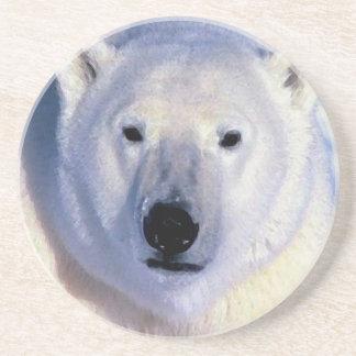 Polar Bear Drink Coaster