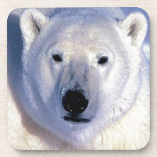 Polar Bear Drink Coaster