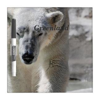 Polar Bear Dry-Erase Board