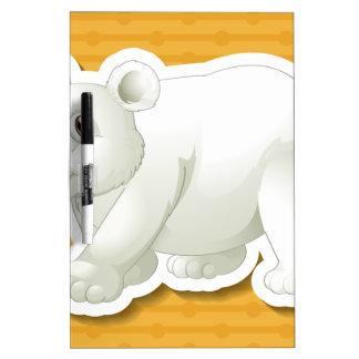 Polar bear dry erase whiteboards