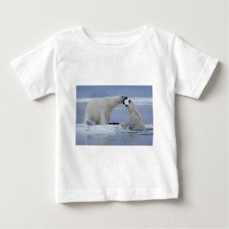 Polar Bear Duel Baby T-Shirt