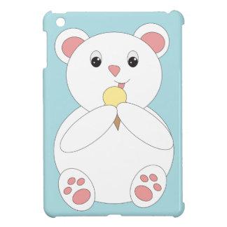 Polar Bear Eating Ice Cream Cover For The iPad Mini