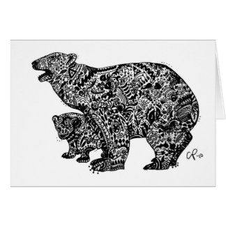 Polar Bear Expressed Stationery Note Card