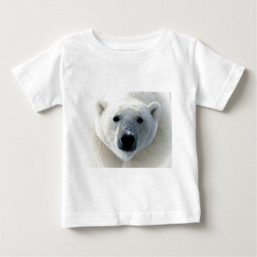 Polar Bear Face Baby T-Shirt
