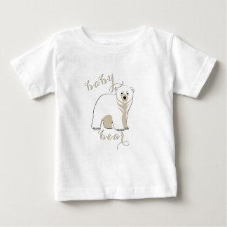 Polar Bear Family  Baby Bear 2 Baby T-Shirt