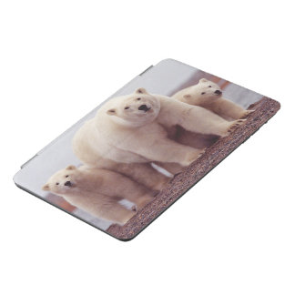 Polar Bear Family iPad Mini Cover