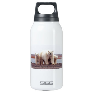 Polar Bear Family Thermos Bottle