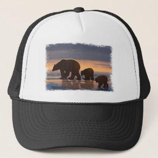 Polar Bear family Trucker Hat