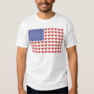 Polar-Bear-Flag[1] T Shirt