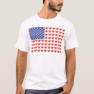 Polar-Bear-Flag[1] T-Shirt