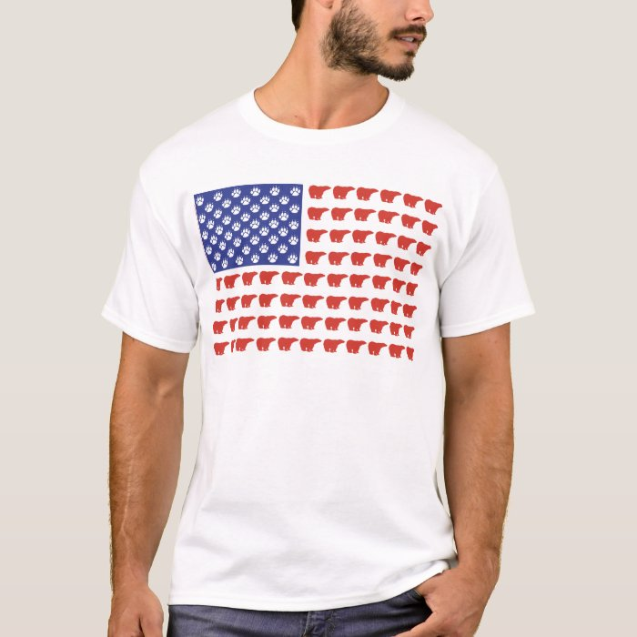 Polar-Bear-Flag[1] T-Shirt