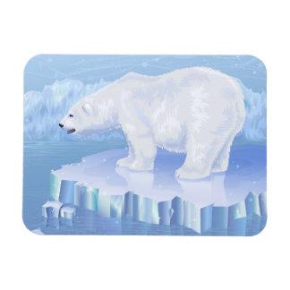 Polar Bear Flexi Magnet